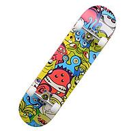 Ván Trượt Thể Thao 80cm (Tặng Túi đựng Ván)Skateboard Mặt Nhám Cao Cấp Gỗ Phong Ép 7 Lớp Cơ Bản Và Chuyên Nghiệp thumbnail