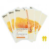 Combo 5 đắp mặt nạ mật ong Benew Honey Hàn quốc ( 22ml gói) thumbnail