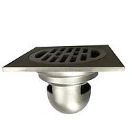 Phễu thoát sàn chống mùi hôi, chống công trùng, chống trào ngược GL SUS304 đúc nguyên khối 120x120 phi 90 thumbnail
