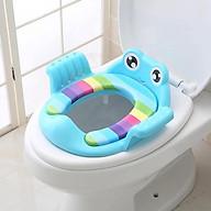 Lót bệ bồn cầu kiểu ếch có tay vịn cho bé yêu thumbnail
