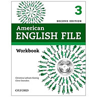 American English File (2 Ed.) 3 Workbook With iChecker - Paperback thumbnail
