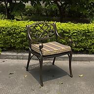 Bộ bàn ghế nhôm đúc ngoài trời, Mã FY-066ZX, Bộ bàn tròn 4 ghế thumbnail