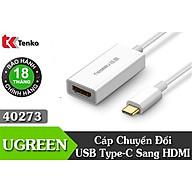 Cáp chuyển đổi USB Type-C to HDMI chính hãng Ugreen UG-40273 hỗ trợ 4k 2K cao cấp thumbnail