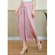 Quần Kiểu Váy Nữ Thắt Nơ Trước Mila 19Qk016Ho - Hồng thumbnail