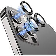 Bộ miếng dán kính cường lực bảo vệ Camera dành cho iPhone 12 Pro iPhone 11 Pro 11 Pro Max hiệu Wiwu Guard Lens Ring mang lại khả năng chụp hình sắc nét full HD (độ cứng 9H, chống trầy, chống chụi & vân tay, bảo vệ toàn diện) - hàng nhập khẩu thumbnail