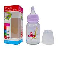 Bình Sữa Thủy Tinh Cổ Thường BEREX 145ml- BSTTT145 màu ngẫu nhiên thumbnail