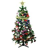 Cây thông Noel 1,5m tặng kèm 1 bộ phụ kiên đầy đủ cao cấp thumbnail