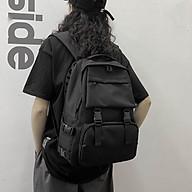 Balo trơn Unisex Nam nữ đi học laptop chống nước balo cặp sách đi học học sinh sinh viên ulzzang thumbnail
