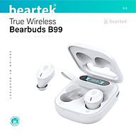 Tai nghe bluetooth không dây BEARTEK Bearbuds B99 True Wireless thiết kế trẻ trung, cá tính Định vị - Cảm ứng Thời gian sử dụng lên tới 4h - Hàng nhập khẩu thumbnail