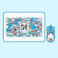 Bộ chuột Razer viper mini 8500DPI và miếng lót chuột Doraemon phiên bản giới hạn kỉ niệm 50 năm phía đuôi chuột có thể phát sáng thumbnail
