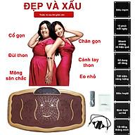 Máy Rung Giảm Cân - Máy Rung Lắc Massage Toàn Thân - 20 Tốc Độ Rung Lắc Mạnh, Dây Tập, Kết Hợp Nhạc MP3 - HDSD Bản Tiếng Anh. thumbnail