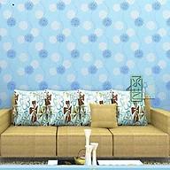 10m Giấy dán tường hoa cầu xanh C0055B thumbnail