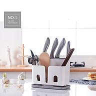 Giá đựng dao đũa kệ để dao đũa nhà bếp 2577 giúp không gian gọn gàng và tiện ích thumbnail