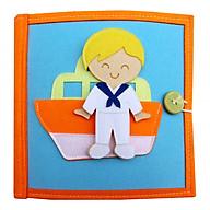 Sách vải giáo dục nghề nghiệp quanh bé thumbnail