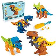 Đồ chơi mô hình khủng long lắp ghép cho bé, đồ chơi xếp hình thông minh cho bé - mẫu ngẫu nhiên thumbnail
