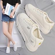 1021 Giày thời trang nữ - Giày sneaker nữ cổ thấp thể thao - Chất liệu nhung mềm mại thumbnail