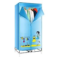 Máy sấy quần áo - tủ sấy 3 tầng thumbnail