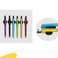 Bút cảm ứng nhiều màu sắc nhỏ gọn tiện lợi bút viết giá đỡ (MÀU NGẪU NHIÊN) thumbnail