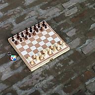 Đồ chơi giáo dục cho bé giúp trẻ em thông minh bằng gỗ tự nhiên, cờ vua cho bé giúp phát triển trí tuệ từ nhỏ. thumbnail