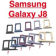 Khay Đựng Sim Thẻ Nhớ Cho Samsung J8 2018 J810 Linh Kiện Thay Thế thumbnail