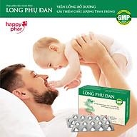 Long Phụ Đan - Bổ dương, cải thiện sinh lý, tăng chất lượng tinh trùng, tăng thụ thai hộp 30 viên thumbnail
