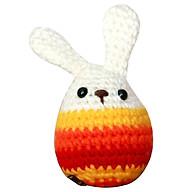 Thỏ Trứng Vàng - Cam - Đỏ S - Little Easter Egg Orange - WT-073YRO-S thumbnail