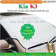 Tấm che chắn nắng kính lái ô tô Kia K3 CAO CẤP 3 Lớp Chắn Nắng Cản Nhiệt OTOALO thumbnail