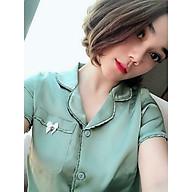 Đồ bộ nữ chất liệu lụa trơn - MSP 29122020HIEN - Freesize - Giao Màu ngẫu nhiên thumbnail