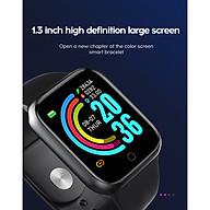Đồng hồ thông minh Y68 LED và cảm ứng siêu mượt, hiển thị Cuộc gọi, Theo dõi sức khoẻ - Giao màu ngẫu nhiên thumbnail