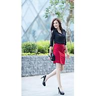 Chân váy đỏ đính cườm thumbnail