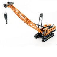 Xe đồ chơi mô hình xe cần cẩu chở hàng DLX chất liệu nhựa ABS an toàn, chi tiết sắc sảo (hàng nhập khẩu) thumbnail