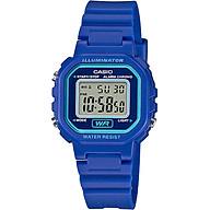 Đồng hồ nữ dây nhựa Casio LA-20WH-2ADF thumbnail