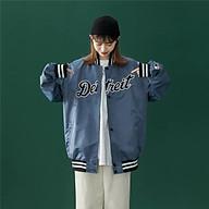 Áo khoác nữ bóng chày vải dù 2 lớp chống gió chống nắng cao cấp thumbnail