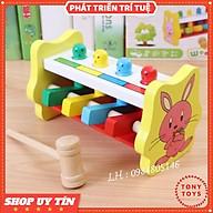 Đồ chơi Gỗ Đập Chuột Hình Thỏ Nghộ Nghĩnh Vui Nhộn Cho Bé thumbnail