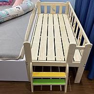 Giường trẻ em size 150 70 70, giường gỗ 3 mặt thumbnail