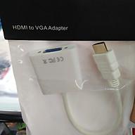 Cáp chuyển HDMI to VGA 20cm thumbnail
