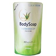 Sữa Tắm DAIICHI Nhật Bản Tinh Chất Lô Hội Dưỡng Trắng Da Tái Tạo Làn Da 400ML Dạng Túi thumbnail