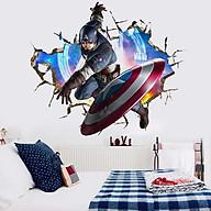 Decal dán tường siêu anh hùng 3D MS1 thumbnail
