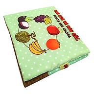 Sách Vải Trẻ Em Pipovietnam Hoa Quả thumbnail