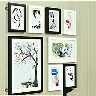 Bộ 8 Khung ảnh Treo Tường phòng khách KA801 Miễn phí phụ kiện. thumbnail