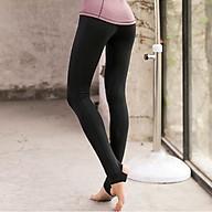 Quần Tập Yoga, Gym, Thể Thao Nữ Đẹp Cao Cấp, Vải Co Dãn, Cạp Cao, Dẫm Gót SM7891 thumbnail