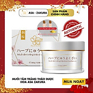 Muối tắm trắng thảo dược hoa Sakura thumbnail