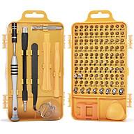 Bộ công cụ tua vít chuyên sửa chữa tháo lắp điện thoại laptop bỏ túi 110 in1 (full 98 đầu vít) - sử dụng tốt cho thiết bị iphone mac xiaomi samsung thumbnail