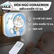 Đèn ngủ hình mèo Doraemon ngộ nghĩnh, tích hợp điều khiển từ xa thông minh cô cùng tiện lợi thumbnail