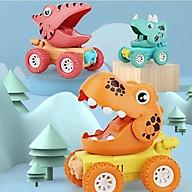 Xe ô tô địa hình khủng long Dinosaur quán tính chạy đà cho bé nhiều màu sắc,chạy rất xa, bền bỉ - Mẫu ngẫu nhiên thumbnail