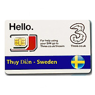 Sim Du lịch Thụy Điển - Sweden 4G tốc độ cao thumbnail