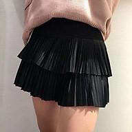Chân váy DẬP LY 2 TẦNG có quần bên trong thumbnail