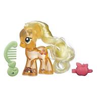 Mô Hình Pony Trong Suốt - Bánh Táo My Little Pony B5416 B0357 thumbnail