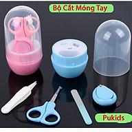 Bộ dụng cụ cắt móng tay cho bé sơ sinh 4 chi tiết thumbnail