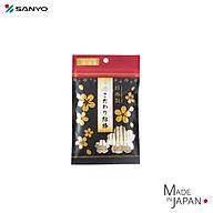 Gói 50 tăm bông cao cấp Nhật Bản Sanyo 100% bông gòn tự nhiên kháng khuẩn - Hàng nội địa Nhật Bản thumbnail